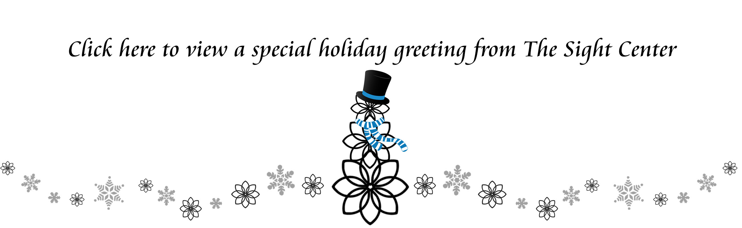 Click here for our special Holiday Greeting