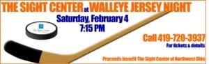 Walleye Jersey Night