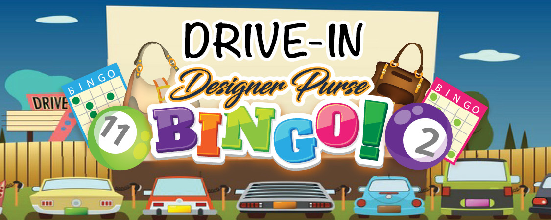 2020 Drive-In Designer Purse Bingo logo