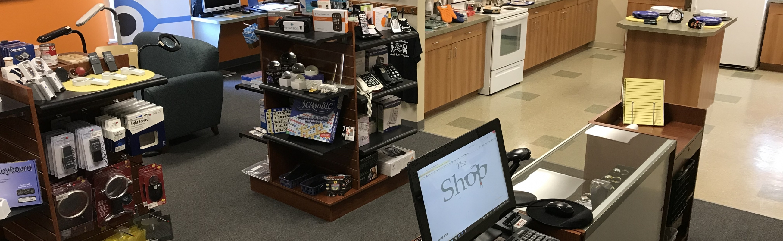 Shop Online - The Shop at The Sight Center