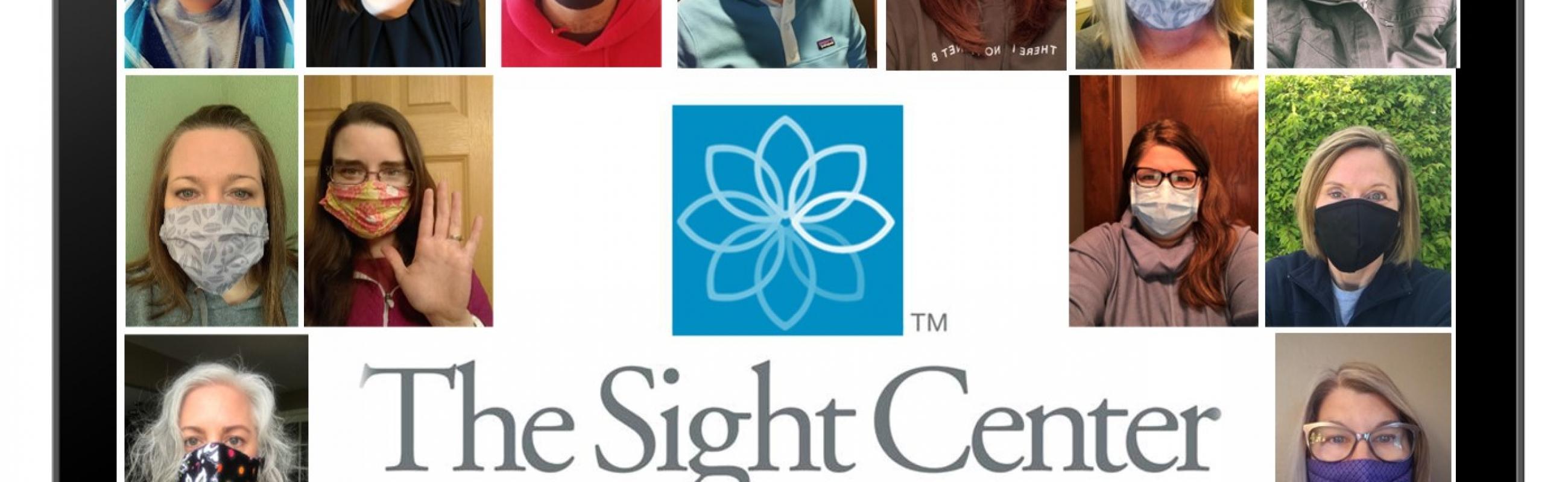 Sight Center Staff in Masks