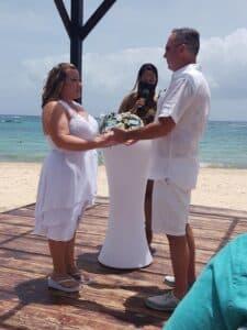 Stacey's Beach Wedding